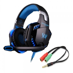 Headset Earphone Headband with Mic Stereo Bass LED Light for PC / PS4 /XBOX ONE  Game