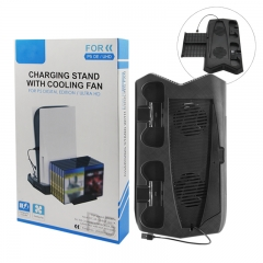 Charging stand with cooling fan for P5 digital edition/ultra HD