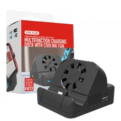 For N-SW video interface screen switching  multifuntion charging  dock with cooling fan
