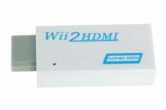 WII to HDMI Converter 1080P White