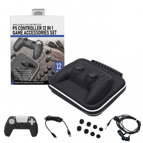 P5 controller  12 in 1 game accessories set