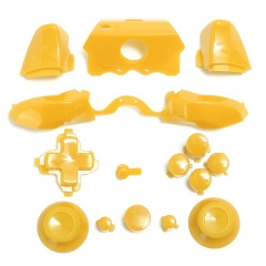 Full Buttons 9 Colors /  1 Set LB RB Bumpers Triggers Buttons DPAD LT RT For Xbox One Elite Controller - Yellow