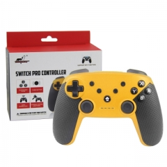 Nintendo Switch/PC/Android Bluetooth Controller With NFC Function (Yellow Color)