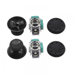 Xbox One Controller Original 3D Analog Joystick 2PCS +Black Thumbstick  2PCS+Black Thumb Grip  2PCS