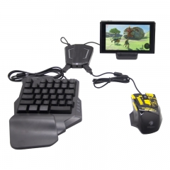 Keyboard and mouse converter set