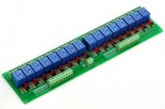 ELECTRONICS-SALON 16 SPDT Power Relay Module, DC 48V Coil, 10A 250VAC/30VDC, Board.