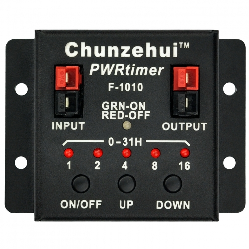 Chunzehui F-1010 Low Loss PWRtimer Power Switch ON OFF / Timer ON / Timer Off Module, Anderson Powerpole.