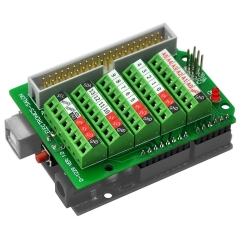 ELECTRONICS-SALON Arduino Screw Terminal Block Breakout Module, for Arduino UNO R3.