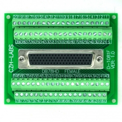 CZH-LABS D-SUB DB78HD Female Header Breakout Board, DSUB.