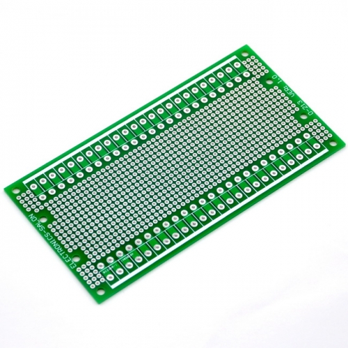 ELECTRONICS-SALON 1PCS Double-Side Prototype PCB,Universal Board, 137.4x72mm.