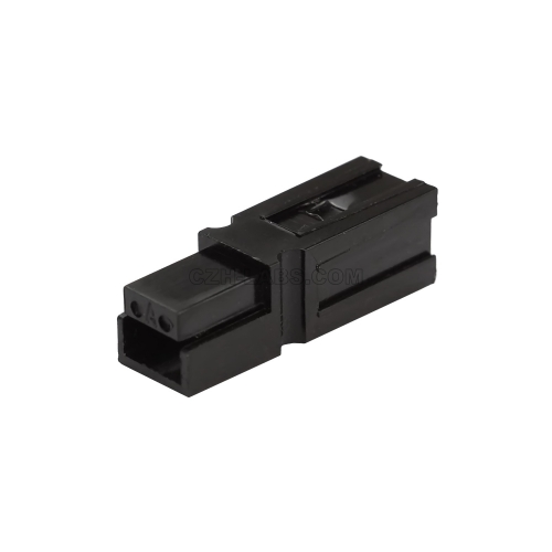 Powerpole PP15-45 Standard Black Housing, Compatible with Anderson 1327-G6.