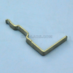 45A Tin Plated Horizontal Right Angle(Top) PCB Powerpole Power Contacts, Compatible with Anderson 1337G1.