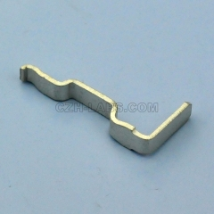 45A Tin Plated Horizontal Right Angle(Bottom) PCB Powerpole Power Contacts, Compatible with Anderson 1336G1.