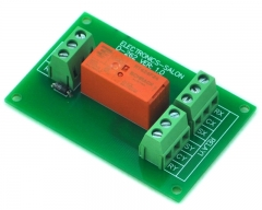 ELECTRONICS-SALON Passive Bistable/Latching DPDT 8 Amp Power Relay Module, 24V Version, RT424F24