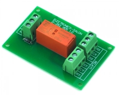 ELECTRONICS-SALON Passive Bistable/Latching DPDT 8 Amp Power Relay Module, 12V Version, RT424F12