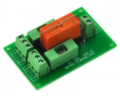 ELECTRONICS-SALON 115VAC Control DPDT 8Amp Power Relay Fused Interface Module Board, RTE24615 AC115V.