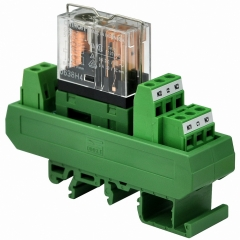 ELECTRONICS-SALON AC/DC 5V Slim DIN Rail Mount 5Amp DPDT Power Relay Interface Module, G2R-2 5V.