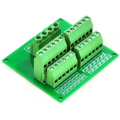 CZH-LABS Panel Mount 12 Position Power Distribution Module Board.