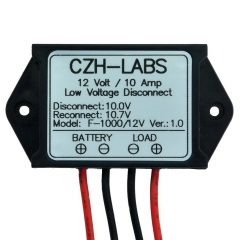 CZH-LABS Low Voltage Disconnect Module LVD, 12V 10A, Protect/Prolong Battery Life.