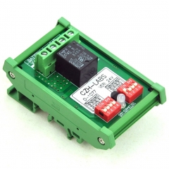 CZH-LABS DIN Rail Mount LVD Low Voltage Disconnect Module, 24V 10A, Protect Battery.