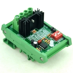 CZH-LABS DIN Rail Mount Low Voltage Disconnect Module LVD, 36V 30A, Protect Battery.