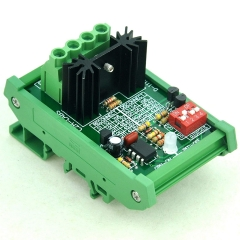 CZH-LABS DIN Rail Mount Low Voltage Disconnect Module LVD, 48V 30A, Protect Battery.