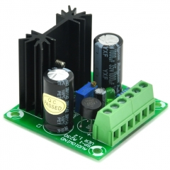 AUDIOWIND DC Positive 1.5~29V Adjustable Voltage Regulator Module, based on LM317 IC.