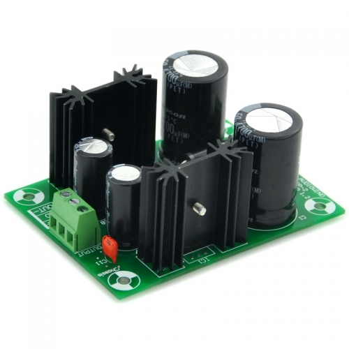 AUDIOWIND +/-24V Positive/Negative Voltage Regulator Module Board, Based on 7824 7924.