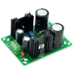 AUDIOWIND Power Supply Board Kit, PCB, Based on LM317 & LM337 IC.