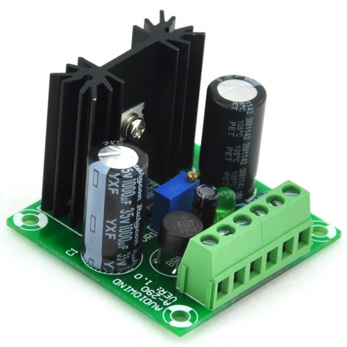 AUDIOWIND -1.5 to -29V DC Negative Voltage Adjustable Regulator Module Board, LM337 IC.