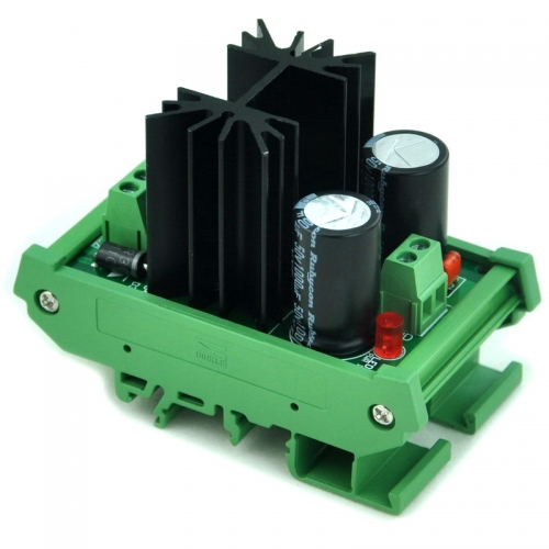 CZH DIN Rail Mount Negative 1.25~37V DC Adjustable Voltage Regulator Module.