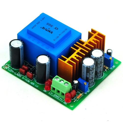CZH-LABS In AC115V Out Positive/Negative DC1.25~15.8V Adjustable Voltage Regulator.