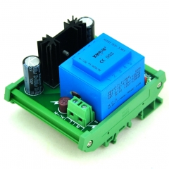 CZH-LABS DIN Rail Mount Input AC230V Output DC1.25~15.8V Adjustable Voltage Regulator.