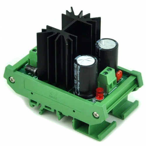 CZH DIN Rail Mount Negative 15V DC Voltage Regulator Module.