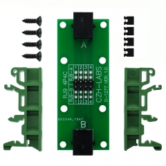 CZH-LABS RJ9 4P4C Diagnostic Test Breakout Module Board.
