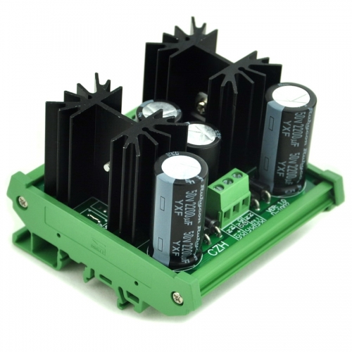 CZH DIN Rail Mount Positive and Negative +/-6V DC Voltage Regulator Module Board.