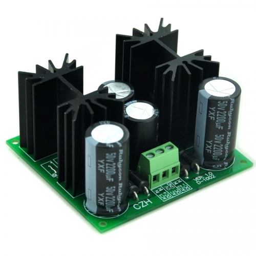 CZH Positive and Negative +/-12V DC Voltage Regulator Module Board.