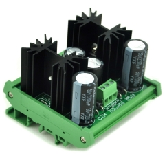 CZH DIN Rail Mount Positive and Negative +/-15V DC Voltage Regulator Module Board.