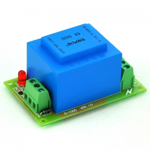 CZH Primary 115VAC, Secondary 18VAC, 5VA Power Transformer Module, D-1005/C, AC18V.