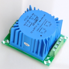 AUDIOWIND In 115/230Vac Out 2x18Vac 25 Watts(VA) Encapsulated Toroidal Power Transformer.