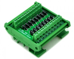 ELECTRONICS-SALON DIN Rail Mount Common Anode 16 Diode Network Module, 1N5408 3A 1000V.
