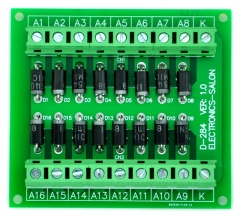 ELECTRONICS-SALON Common Cathode 16 Diode Network Module, 1N5408 3A 1000V.