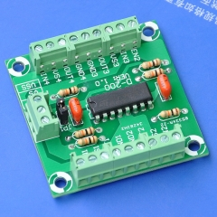 ELECTRONICS-SALON Push-Pull Four Channel Motor Driver Module, L293D.