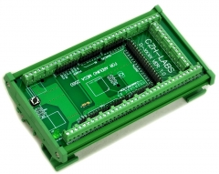 CZH-LABS DIN Rail Mount Screw Terminal Block Adapter Module, For Arduino MEGA-2560 R3.