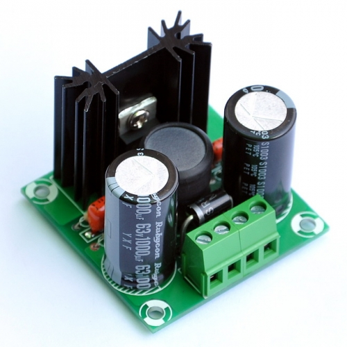 ELECTRONICS-SALON  Step-UP Voltage Regulator Module Board, Out max. 60VDC.