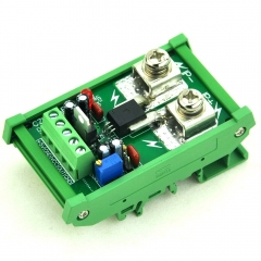 DIN Rail Mount +/-50Amp AC/DC Current Sensor Module, based on ACS758.