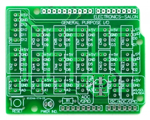 I/O Extension PCB for Arduino UNO R3 Board DIY.