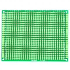 "70x90mm Double-Side Prototype Board PCB, FR-4 Glass Fiber, 2.8"" x 3.6"""