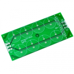Capacitor Filter Bare PCB, Support 8pcs D30mm Electrolytic Capacitors.