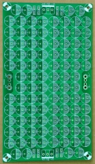 Capacitor Filter Bare PCB, Support 100pcs D12.5mm Electrolytic Capacitors.